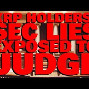 Attorney Deaton DESTROYS SEC In Latest Court Memorandum, EXPOSES LIES FOR JUDGE TO SEE