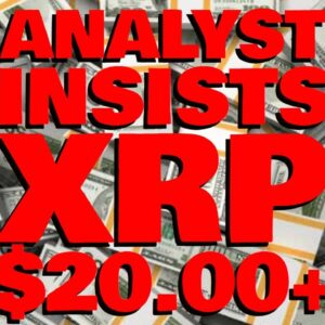 """Analyst To XRP Weak Hands: """"C'MON SELLERS FILL MY BAGS!"""" $20.00+ THIS CYCLE"""