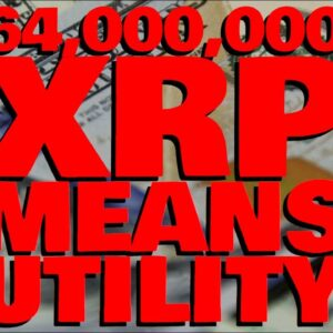 XRP Utility ACCIDENTALLY DISCOVERED By Bitcoin Maximalists | 64 MILLION XRP On The GO