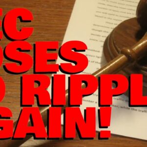 HUGE BLOW TO SEC As Judge DENIES Crucial Motion, MULTIPLE Pro-XRP Attorneys AGREE