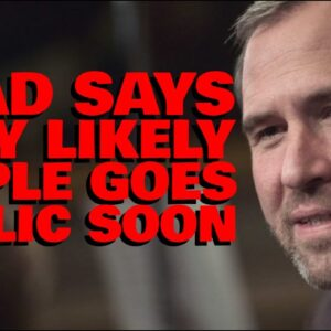 """RIpple CEO: """"VERY LIKELY"""" Going Public AFTER SEC Case 