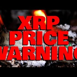 XRP PRICE WARNING: Drop May Be IMMINENT Says MULTIPLE Analysts, But Even So, WHALES ARE ACCUMULATING