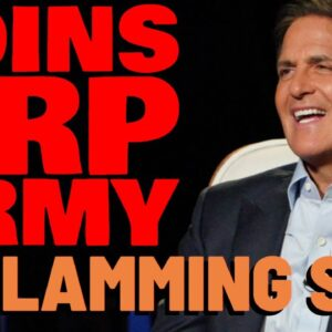 Billionaire Mark Cuban JOINS XRP ARMY In Criticizing SEC, Reports Popular Media Outlet