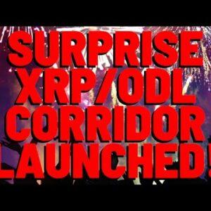 Ripple's SURPRISE News: New XRP/ODL Corridor NOW OPEN, Despite SEC Litigation