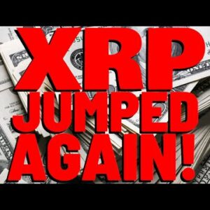 XRP PRICE JUST JUMPED AGAIN! Analyst: My Bias Is that XRP IS ENTERING A BULL MARKET