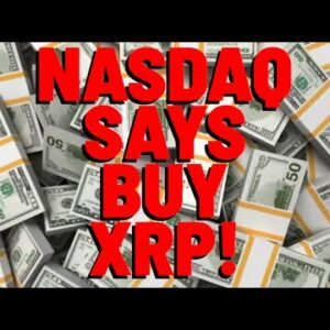 """NASDAQ Quote: """"XRP IS A GREAT ALTCOIN FOR YOUR PORTFOLIO, TRADING AT A DISCOUNT"""" 