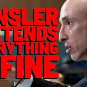 XRP: Gensler's In FANTASY LAND! SEC Chair's NEW SPEECH Show Him Pretending Reg. Clarity EXISTS