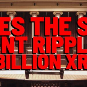 Deaton: Ripple's MASSIVE 55 BILLION XRP STASH Is Why SEC Is GOING AFTER XRP