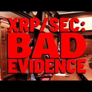 """XRP: The SEC Is """"HELL BENT"""" On Using BAD EVIDENCE Against Ripple: Report"""