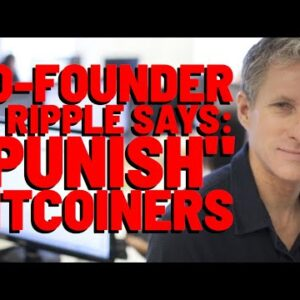 """XRP: """"PUNISH BITCOINERS"""" Says Ripple Co-Founder Chris Larsen 