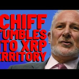 XRP: Gold Bug Peter Schiff ACCIDENTALLY Stumbles Into XRP's Most FAMOUS Use Case; A BRIDGE CURRENCY