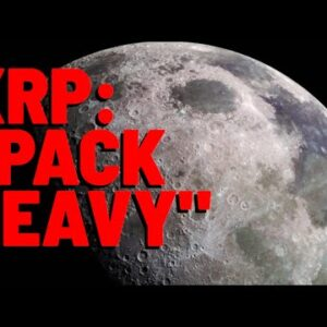 """Top XRP Analyst: """"PACK HEAVY, IT'S A LONG WAY TO THE MOON"""" & XRP """"NEW BREAKOUT IS COMING!!"""""""