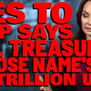 XRP: U.S. Treasurer SHOUTS OUT XRP, & Her Name IS ON $1 TRILLION UNITED STATES DOLLARS