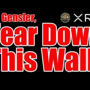 Mr. Gensler: Tear Down This Wall! SEC & Eth vs. Ripple ,  XRP & Innovation
