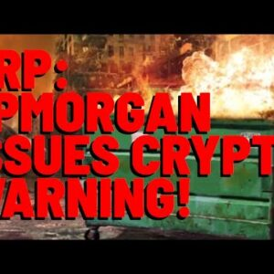 """XRP: It's All GOING TO COLLAPSE? JPMorgan Says YES, Crypto NOT In A """"STRUCTURAL UPTREND"""" - I Respond"""