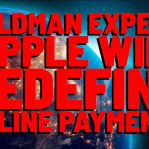 """Goldman Sachs Expert: """"RIPPLE WILL REDEFINE ONLINE PAYMENTS"""" 