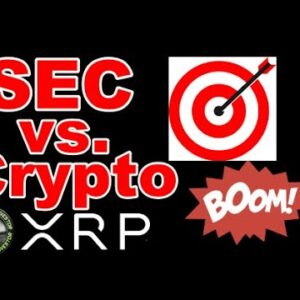 SEC / Ethereum vs. Ripple / XRP / Coinbase / Entire Crypto Industry