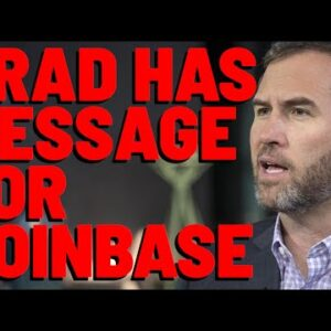 NOT Just XRP: SEC TARGETS COINBASE, & Garlinghouse Sends MESSAGE TO CEO BRIAN ARMSTRONG