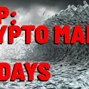 XRP: Crypto MANIA May Be ONLY 30 DAYS AWAY Says Altcoin Daily To 1 MILLION CHANNEL SUBSCRIBERS