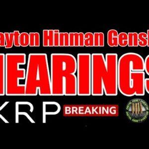 Gensler Lobbied Clayton(For Who?) SEC & ETH vs. Ripple / XRP / USA