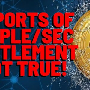 XRP: Yahoo Reports Ripple SETTLES W/ SEC, NOT True, HOW Did This HAPPEN?   Exchanges SILENT On SGB
