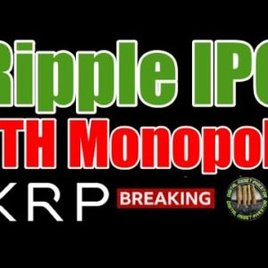 SEC / ETH Monopoly Attempt , Ripple IPO Threat & XRP