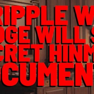 XRP WIN! Judge REFUSES To Let SEC Hide EVIDENCE From Ripple